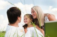 Free Happy Family Royalty Free Stock Photography - 18267987