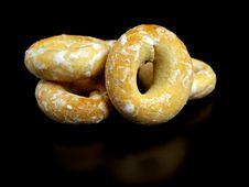 Free Ring Bagels Royalty Free Stock Photos - 18268728
