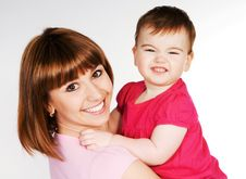 Free Happy Mother Royalty Free Stock Image - 18269556