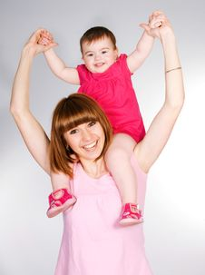 Free Happy Mother Stock Photo - 18269610