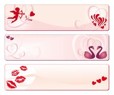 Free Valentine S Day Banners Stock Images - 18269764