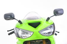 Free Motorcycle Front Details Royalty Free Stock Photo - 18269775
