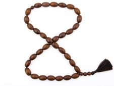 Free Cherrywood Rosary In Form Of Eight Royalty Free Stock Image - 18269956