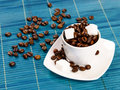 Free Cup Of Coffee With Sugar Stock Photography - 18272322