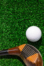 Free Golf Ball And Driver Stock Photos - 18273673