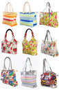 Free Many Womans Bags Royalty Free Stock Image - 18277186