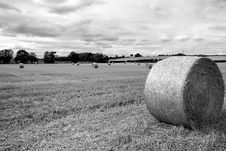Free Hay Bail Stock Images - 18270724