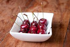 Free Cherries In Bowl Stock Photo - 18270800