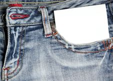 Free Jeans Stock Photography - 18272542