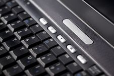 Free Laptop Keyboard Royalty Free Stock Photos - 18273038