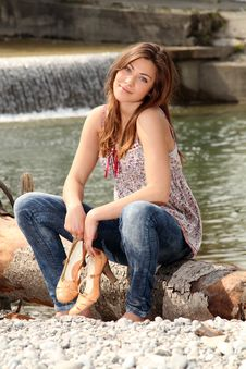 Free Outside At A River Stock Photography - 18273042