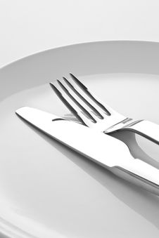 Free Fork And Knife Royalty Free Stock Photos - 18273508