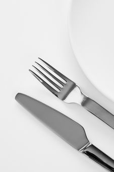 Free Fork And Knife Stock Image - 18273511