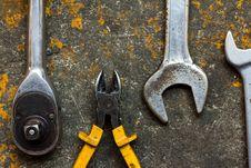 Free Tools Royalty Free Stock Photos - 18273618