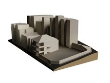 Free Buildings 3d Model Royalty Free Stock Photo - 18273835