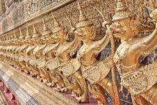Free Golden Garuda Stock Photo - 18274370
