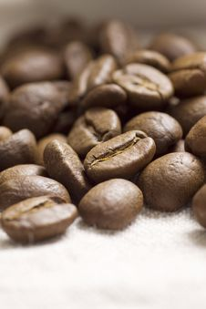 Free Roasted Coffee Beans Stock Photos - 18274823