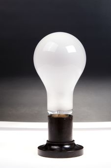 Free Large Brushed Electric Incandescent Lamp Stock Photography - 18274852