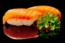 Free Japanese Sushi Royalty Free Stock Image - 18274856