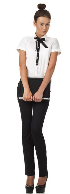 Free Girl In Office Attire Stands And Holds A Laptop Co Royalty Free Stock Photography - 18275127