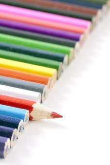 Free Colorfull Colored Pencils Stock Photo - 18275360