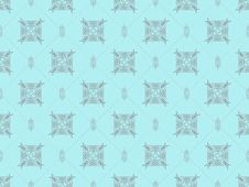 Free Blue Seamless Wallpaper Pattern Stock Photo - 18275370