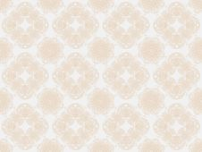 Free Beige Seamless Wallpaper Pattern Royalty Free Stock Image - 18275446