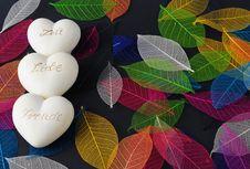 Free Hearts Stock Photography - 18275532