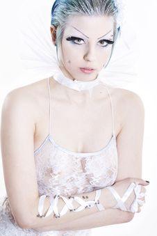 Goth Woman Stock Images