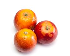 Red Oranges. Stock Photo