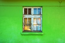 Free Old Window Royalty Free Stock Photo - 18276985