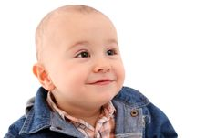 Free Cute Smiling Baby Royalty Free Stock Image - 18277176