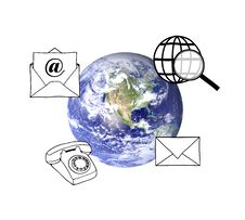 Free Global Networking Royalty Free Stock Photos - 18277418