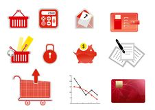 Free Business Finance Icon Royalty Free Stock Photo - 18278025