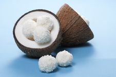 Free Coconut Candies Stock Photography - 18278042