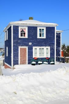 Free House By The Ocean Stock Photos - 18278073