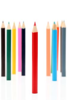 Free Color Pencils Stock Photo - 18278700