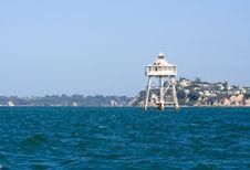 Free Bean Rock Lighthouse 1 Royalty Free Stock Photos - 18278718