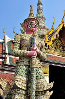 Free Giant In Grand Palace. Stock Photography - 18278862