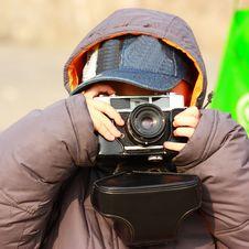 Free Asian Boy Is Taking Photo Stock Photos - 18279123