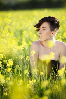 Free Woman On Field Stock Photo - 18279190