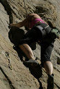 Free Climber On Cliff Stock Image - 18280421