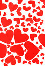 Free Red Hearts Background Stock Photos - 18280833