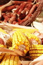 Free Corn In The Basket Royalty Free Stock Photos - 18284728