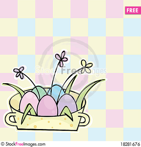 Free Easter Background Royalty Free Stock Image - 18281676