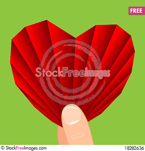 Free Heart In Hand Royalty Free Stock Image - 18282636