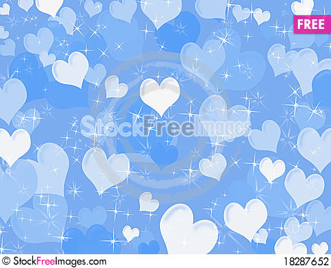 Free Heart Background Stock Photography - 18287652