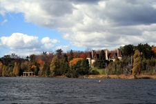 Free Autumn Landscape With A Castle Stock Images - 18280244