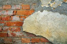 Free Old Ruined Wall Stock Photography - 18280552