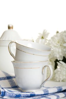 Free Two Teacup Stock Image - 18280971